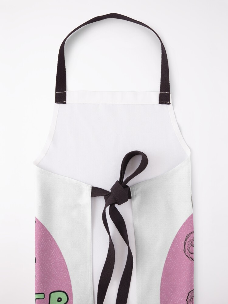 Alternate view of Cute Sleepy Sloth Design. Gift for Girl, Gift for Boy, Animal lover gift. Lazy hanging sloth. Apron