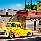 Lincoln Diner Hotrod by Yvonne Roberts