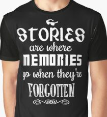 Stories and Memories Graphic T-Shirt