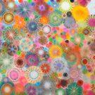 Childhood Dreams - shiney Spirograph Art by RachelEDesigns