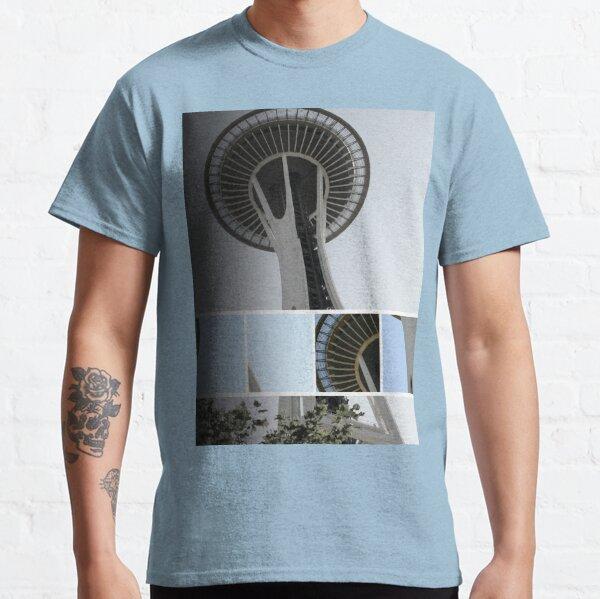Seattle Space Needle Mosaic Classic T-Shirt