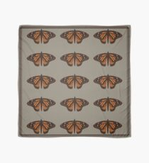 chocolate naive butterfly  Scarf