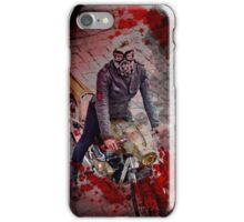 Zombie Hunter Motorcycle Girl iPhone Case/Skin