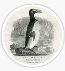 The Great Auk (Extinct Animals Series) Sticker