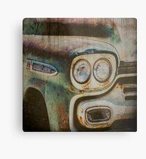 Lámina metálica Vintage Chevrolet Apache Truck
