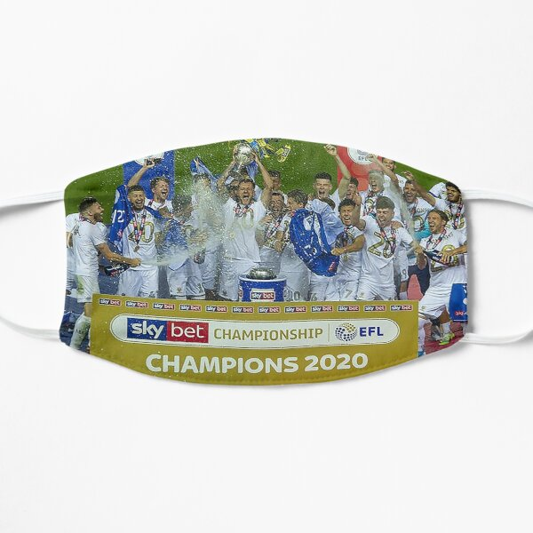Leeds United Champions 2020 Mask