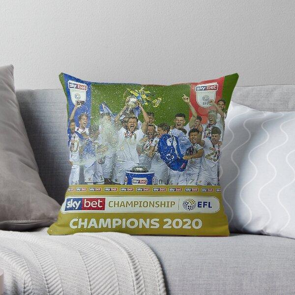Leeds United Champions 2020 Throw Pillow