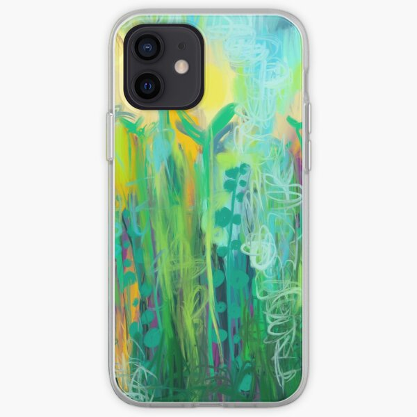 Yellow Tulip Meadow  iPhone Soft Case