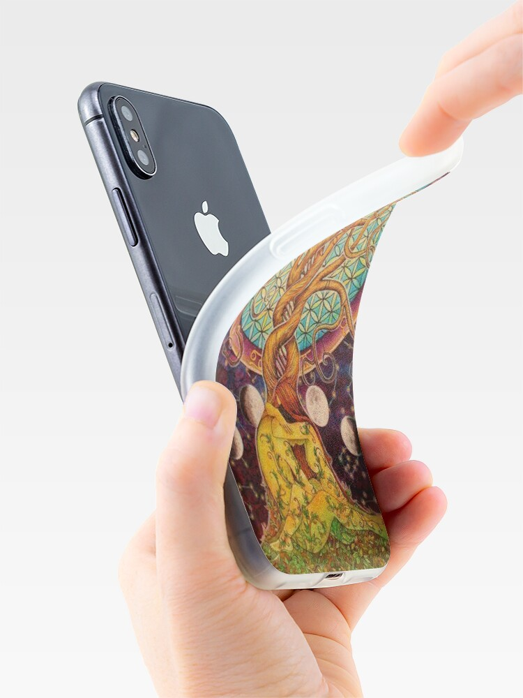 Alternate view of Chaotic Mind iPhone Case & Cover