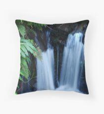 Double Waterfalls Throw Pillow