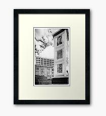 Houdini Plaza Framed Print