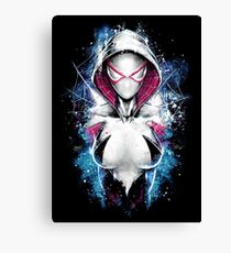Epic Girl Spider Canvas Print