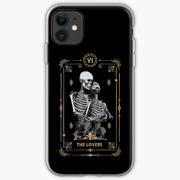 The Lovers VI Tarot Card iPhone Soft Case