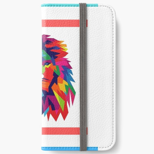 Lions heart iPhone Wallet