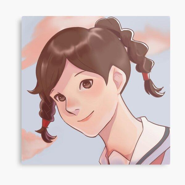 From On Poppy Hill Ghibli Fan art Metal Print