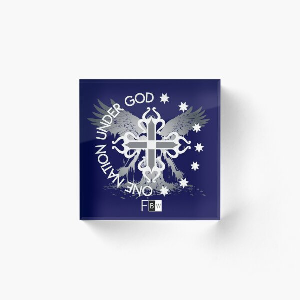 Salvation Acrylic Block