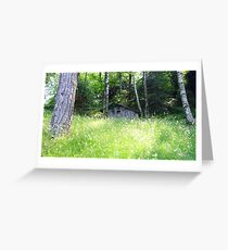 House in the Wood Greeting Card