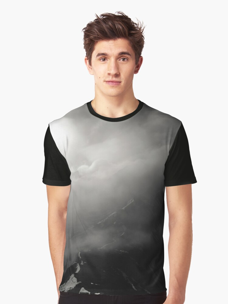 Mountain path Graphic T-Shirt Front