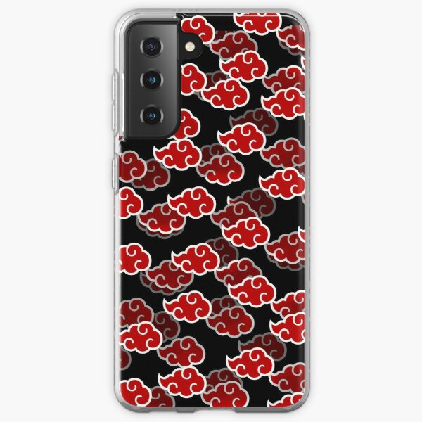 Anime Red Clouds Samsung Galaxy Soft Case