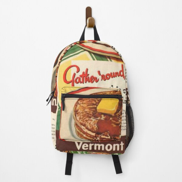 Vermont Maid Syrup 50s ad Backpack