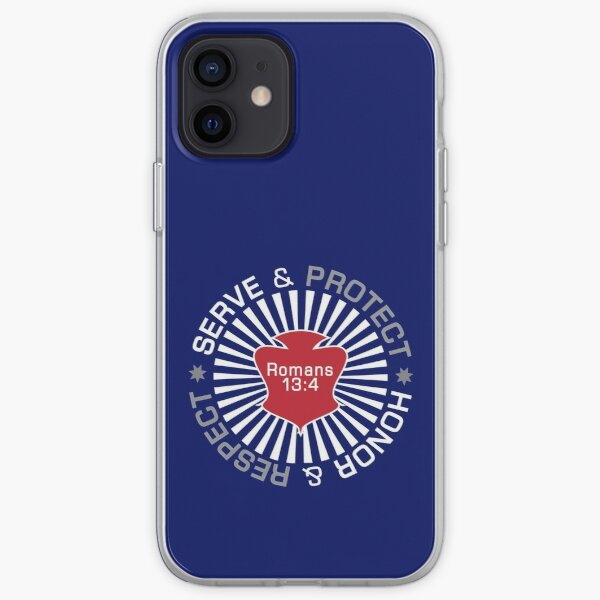 Serve Protect Honor Respect iPhone Soft Case