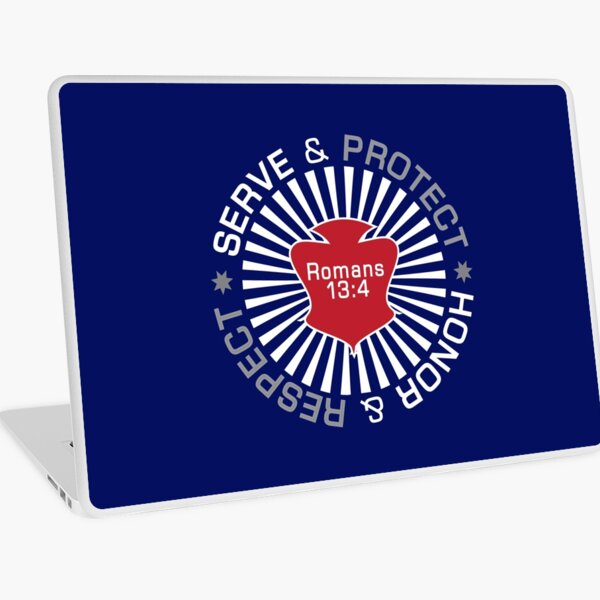 Serve Protect Honor Respect Laptop Skin