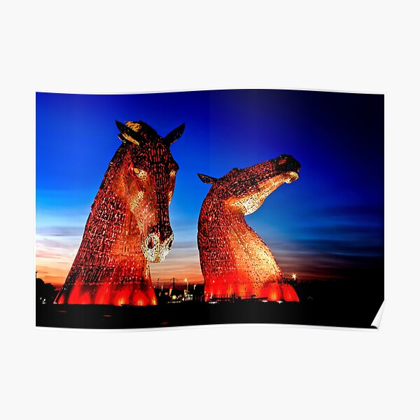 """""""THE KELPIES"""" ANOTHER TAKE. Poster"""