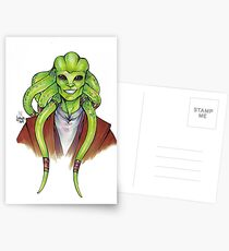Kit Fisto Postcards