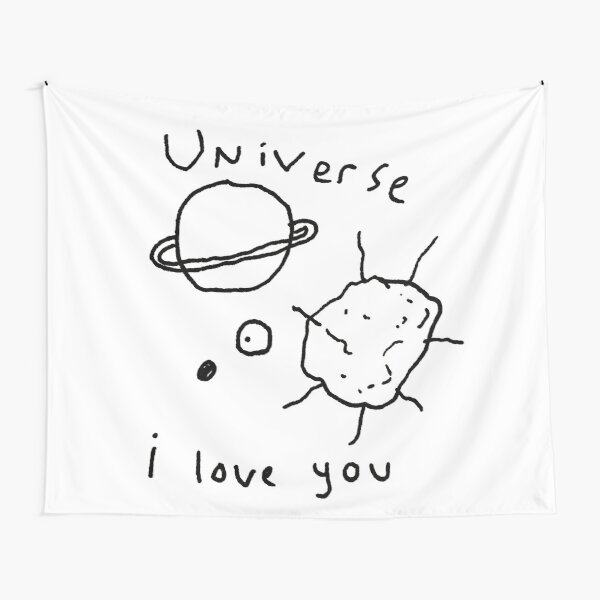 mgg's universe I love you Tapestry