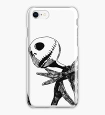 Jack - The nightmare before christmass iPhone Case/Skin