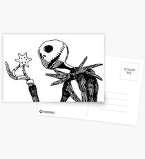 Jack - The nightmare before christmass Postcards