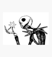 Jack - The nightmare before christmass Photographic Print
