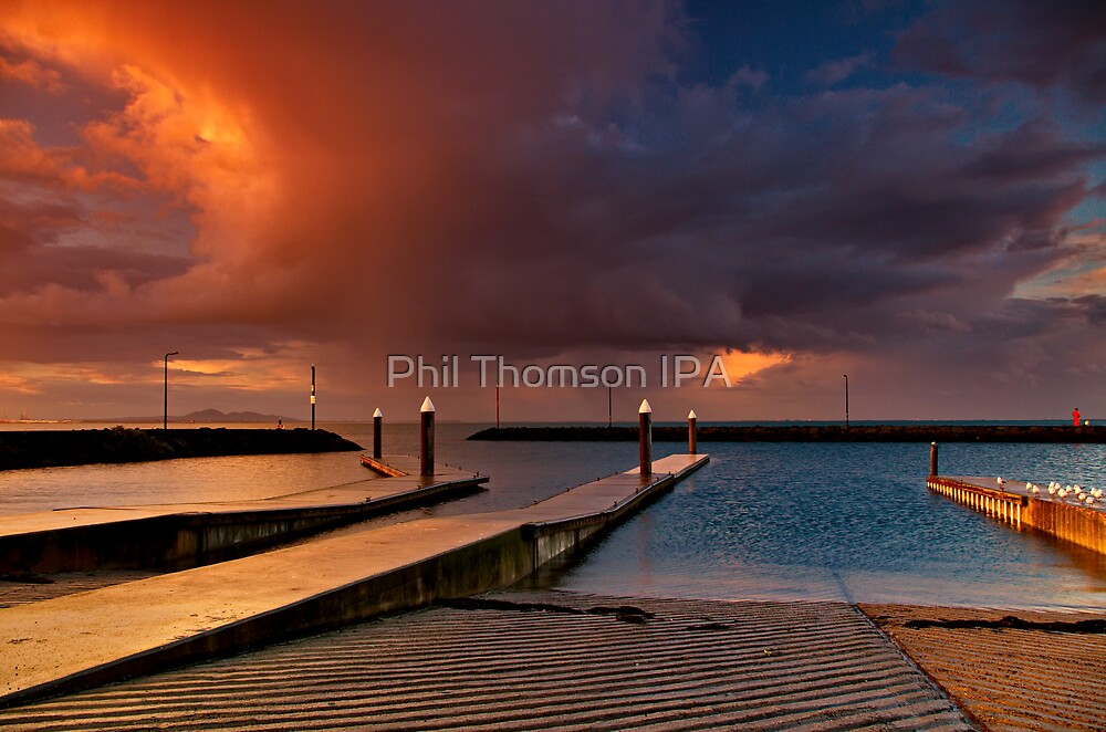 """""""Sunset Tempest"""" by Phil Thomson IPA"""