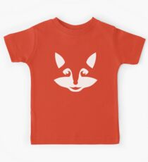 Cute Minimalist Fox Kids Clothes