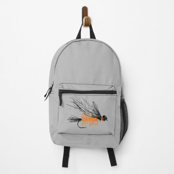 Henry's Fork Salmon Fly - Light Gray Backpack