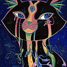 Galactic Kitties: Opal by Seahorse Carousel