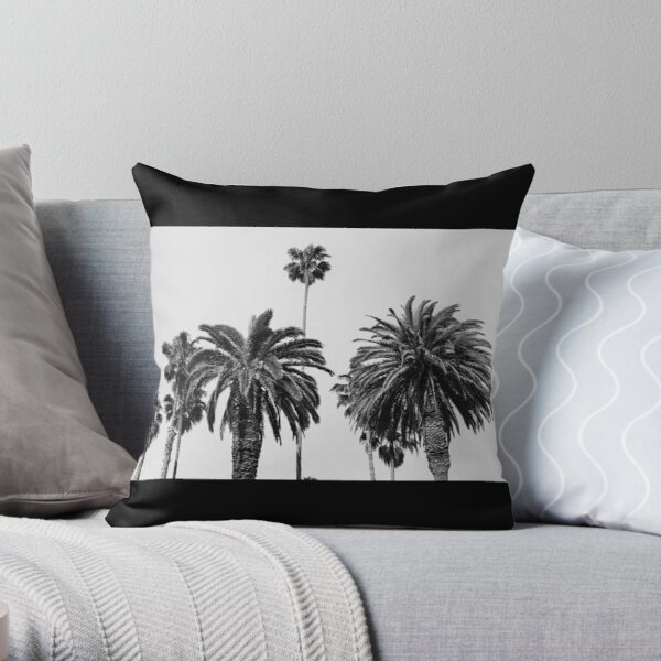 Palm Tree Pillows Cushions Redbubble