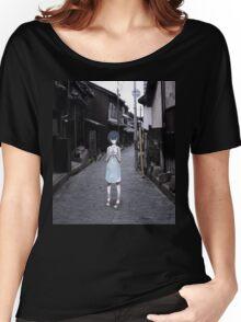 mini Rei in Tokyo Women's Relaxed Fit T-Shirt