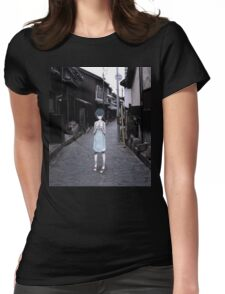 mini Rei in Tokyo Womens Fitted T-Shirt