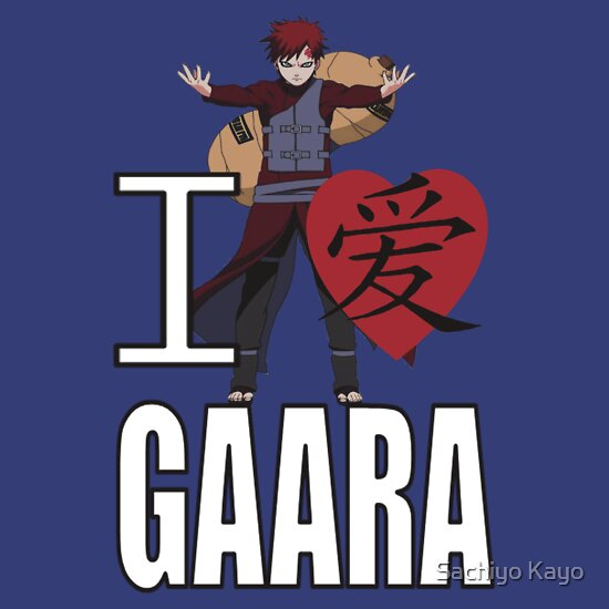 TShirtGifter presents: I Love Gaara | Unisex T-Shirt