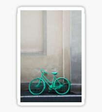 Green Cycle Sticker