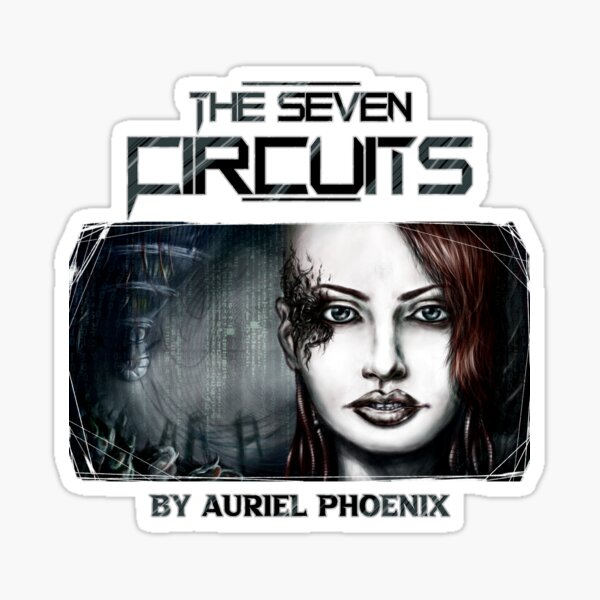 Reid, the Void - The Seven Circuits Dark Scifi Sticker