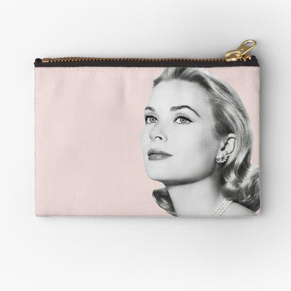 Grace Kelly Tribute In Pink Zipper Pouch