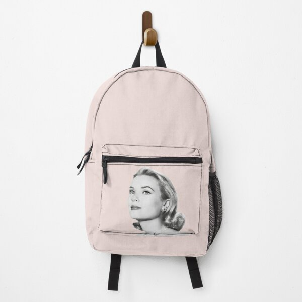 Grace Kelly tribute in pink Backpack