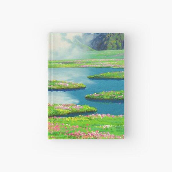 Anime landscape Hardcover Journal