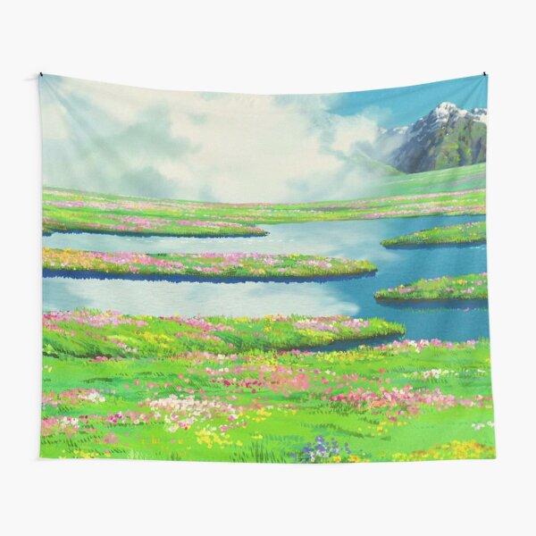 Anime landscape Tapestry