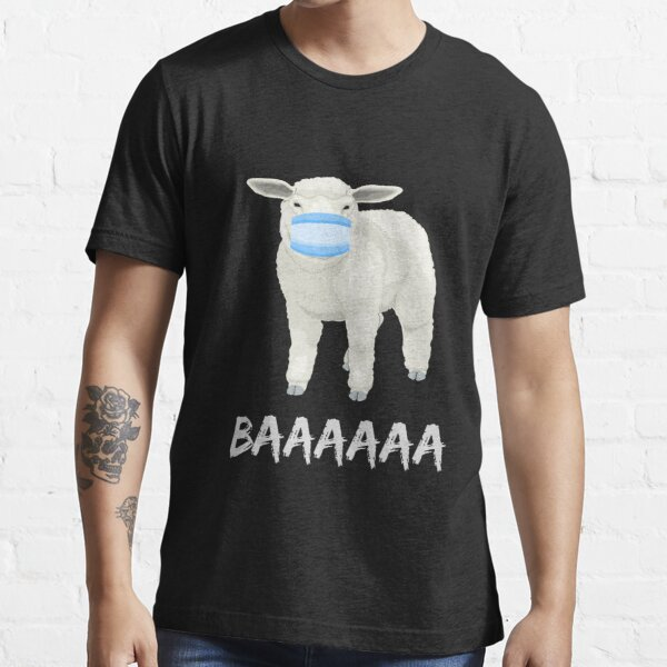 Sheep or sheeple anti mask shirt or mask Essential T-Shirt