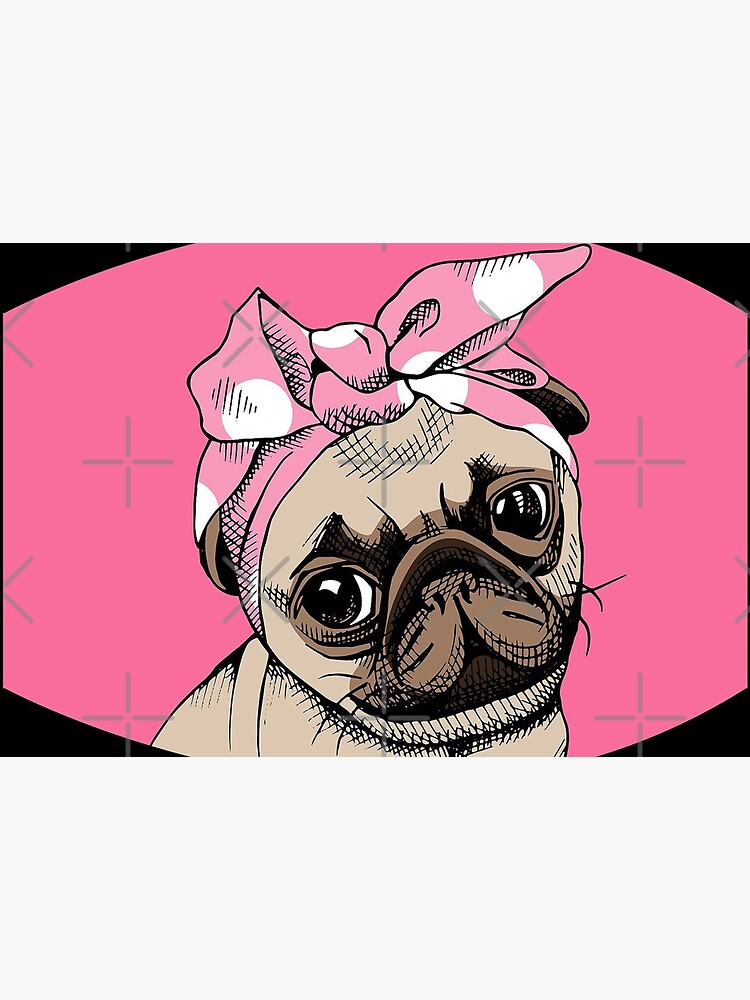 Pug face design by Mbranco