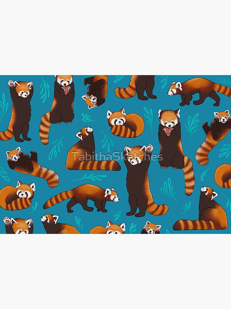 Red Pandas by TabithaSketches