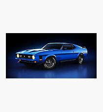 Ford Mustang Mach 1 - Slipstream Photographic Print
